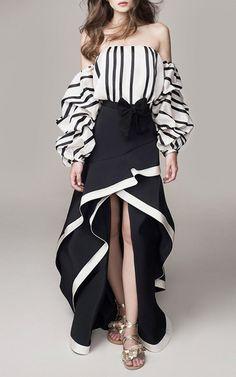 Johanna Ortiz Spring Summer 2016 Look 29 on Moda Operandi High Low Skirt 783ebef497e