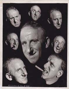 Jimmy Durante Great Expressions * RARE Vintage? Iconic Classic 1950s press photo
