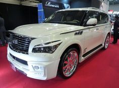 ROWEN Tuned INFINITY QX56 on the NAGOYA AUTO TREND!