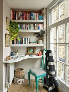 Home Design, Home Office Design, Design Design, Modern Design, Office Designs, Design Hotel, Interior Design Photos, Interior Modern, Small Apartment Interior Design
