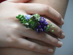 The prettiest ring corsage ever!