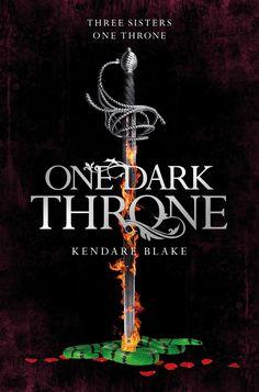 UK #CoverReveal One Dark Throne (Three Dark Crowns, #2) by Kendare Blake
