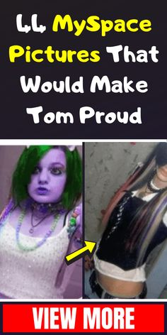 44 MySpace Pictures That Would Make Tom Proud Korean Fashion Winter, Fun Facts, Toms, The Incredibles, Amazing Facts, How To Make, Pictures, Nostalgia, Weird