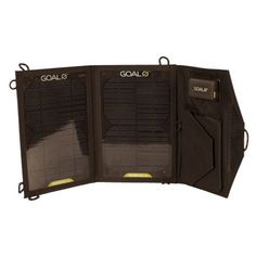 Goal ZeroNomad 7m Solar Panel great for motorcyle trips, out on the boat, and camping