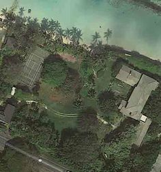 An aerial view of the compound. (Google Maps)