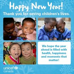 UNICEF Canada is a children's charity and humanitarian organization. Join Canadian supporters and start saving children's lives! Child Life, Community Service, Happy New Year, Charity, Children, Kids, Canada, In This Moment, School
