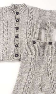 Neulottu vauvan takki ja housut Novita Nalle | Novita knits Knitted Hats, Knitting, Sweaters, Fashion, Kids Pants, Knitting Needles, Tejidos, Moda, Tricot