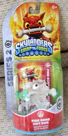 Skylanders Swap Force Fire Bone Hot Dog Ebay