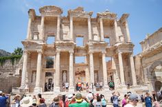 The-Celsus-library-the-ancient-city-of-ephesus-copyright