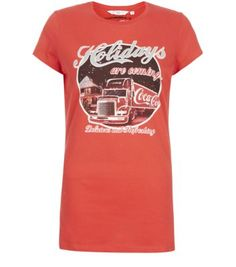 Red Holidays Are Coming Coke T-Shirt