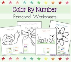 Creative Homeschool: Color By Number