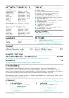 Quentin Seik: Curriculum Vitae 2011 by Quentin Seik, via Behance
