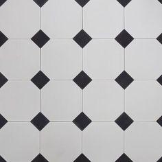 Oktagon inkl sorte drops — SOUK Tile Floor, Drop, Flooring, Texture, Elegant, Interior, Crafts, Design, Bathroom