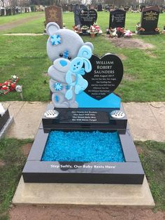 Cemetery Headstones, Cemetery Art, Tombstone Designs, Grave Decorations, Dog Furniture, Baby Memories, Love Wall, Our Baby, Finding Yourself