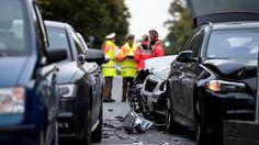 Massencrash in München: Mercedes rast ungebremst in Stauende