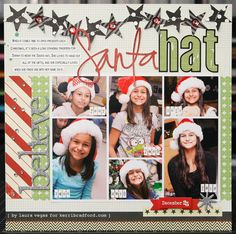 #papercraft #scrapbook #layout by Laura Vegas
