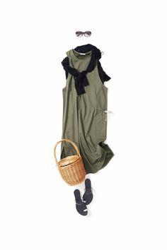 Kyoto Kikuchi's Closet #kk-closet  夏ワンピ~秋ワンピへ Classic Outfits, Trendy Outfits, Summer Outfits, Fashion Outfits, Womens Fashion, Over 60 Fashion, Daily Fashion, Japanese Outfits, Japanese Fashion