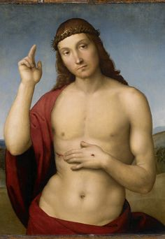 Cristo Abençoando (1506), Rafael. Assinado por um dos maiores artistas do Renascimento, é o quadro mais importante da mostra Mestres do Renascimento. É também o de maior valor. Seu seguro custou cerca de e 80 mil (Foto: Divulgação)