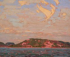 Tom Thomson View over a Lake, Autumn 1916 Canadian Landscape Artist Art Print by EnShape - X-Small Canadian Painters, Canadian Artists, Print Artist, Artist Art, Art Print, Landscape Art, Landscape Paintings, Landscapes, Group Of Seven Paintings