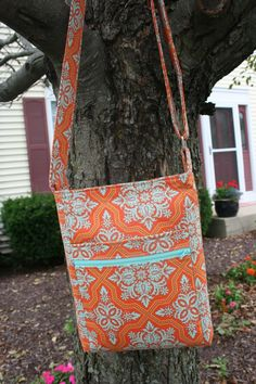 2 zip hipster bag pattern for sale