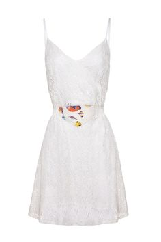 Doris Day Dress. Minus the wack belt this might be nice for day after wedding going away or evening before.
