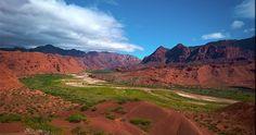 Valles calchaquíes. Argentina