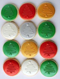 Christmas Cookies. Me gusta para decorar m,