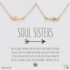 Soul Sisters Arrow Necklaces