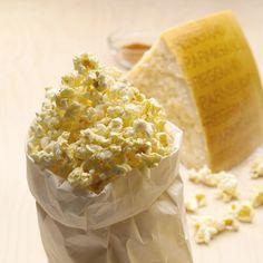 Parmesan Popcorn Recipe #GamedayParmesan