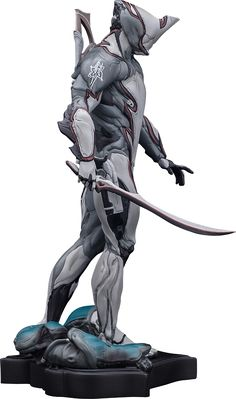 Limited Edition Excalibur Statue – The Official Warframe Store mecha suits Cyberpunk, Character Concept, Character Art, Concept Art, Warframe Art, Warframe Excalibur, Arte Ninja, Sci Fi Armor, Character Design