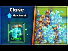 WHAT HAPPENS IF YOU MIRROR the CLONE SPELL in Clash Royale!?!? - YouTube