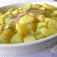 Fotografie receptu: Německý bramborový salát s cibulí Veggie Recipes, Cooking Recipes, Cheeseburger Chowder, Potato Salad, Salads, Veggies, Food And Drink, Soup, Potatoes
