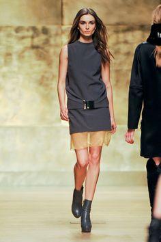 Beautiful Shift Dress . Paco Rabanne Fall 2012.