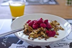 Nice to see my granola recipe made by someone else, seems to work :)