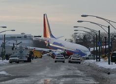 Southwest Airlines Flight 1248 slid off Chicago Midway International Airport's runway in Dec 2005.