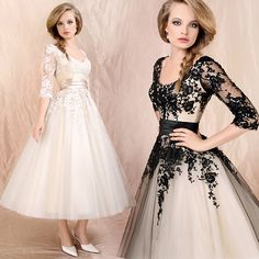 Vestidos de gala con encaje 1