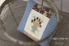 Blackbird Designs - community blog for embroiderers, Summer Iris