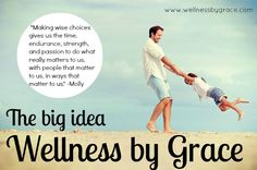 Join our Facebook community for daily tips and practical information to live your one precious life with vibrance & optimal wellness!   https://www.facebook.com/wellnessbygrace