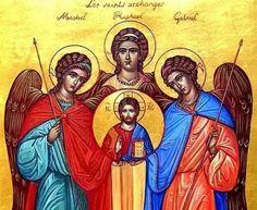 San Miguel, San Gabriel y San Rafael Arcángeles - 29 septiembre