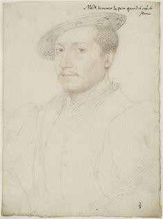 François de Clèves, duc de Nevers (1516-1561) ... Jean Clouet.