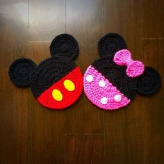 Crochet coasters disney Concepts snowylele's items for sale on Carousell Newest Images Crochet coasters disney Concepts snowylele's items for sale on Carousell Mickey Mouse Minnie Mouse crochet pattern Autumn Ornament Crochet Mask, Bead Crochet, Crochet Motif, Crochet Crafts, Crochet Flowers, Crochet Toys, Crochet Projects, Crochet Beanie, Disney Crochet Patterns