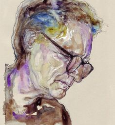 Illusion: Maria Checchia's illustrations have interesting color combinations and diverse brushstroke techniques. Some of her portraits look like she used pens and thin markers, but it was all done with watercolor.   http://illusion.scene360.com/art/36945/expressive-watercolor-portraits/