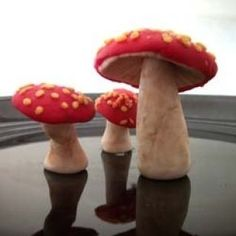 How to Make Fondant Mushrooms | Edible Crafts | CraftGossip.com