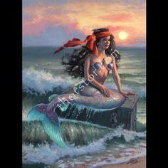 Fond Recall Mermaid Gifs, Mermaid Island, Mermaid Artwork, Mermaid Pictures, Beautiful Snakes, Mermaids And Mermen, Merfolk, Ariel The Little Mermaid, Fantasy Creatures