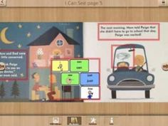 I Can See Just Fine by Eric Barclay - an interactive book using #AAC symbols - made with Scene Speak from @Good Karma Apps
