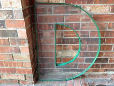 VERY Large Reclaimed Plastic Sign Capital Letter D by FindingGreat, $49.00