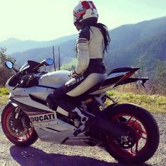 Motorcycle Women ducatisofinstagram