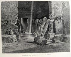 Apet temple at Karnak Egypt, History, Architecture, Painting, Art, Arquitetura, Art Background, Historia, Painting Art