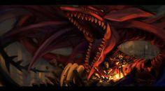 Cuando el momento del duelo llegue, no dudes en llamarlo pues él te brindará todas sus fuerzas                     ~ Slifer el Dragón del Cielo ~