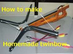homemade twin bow